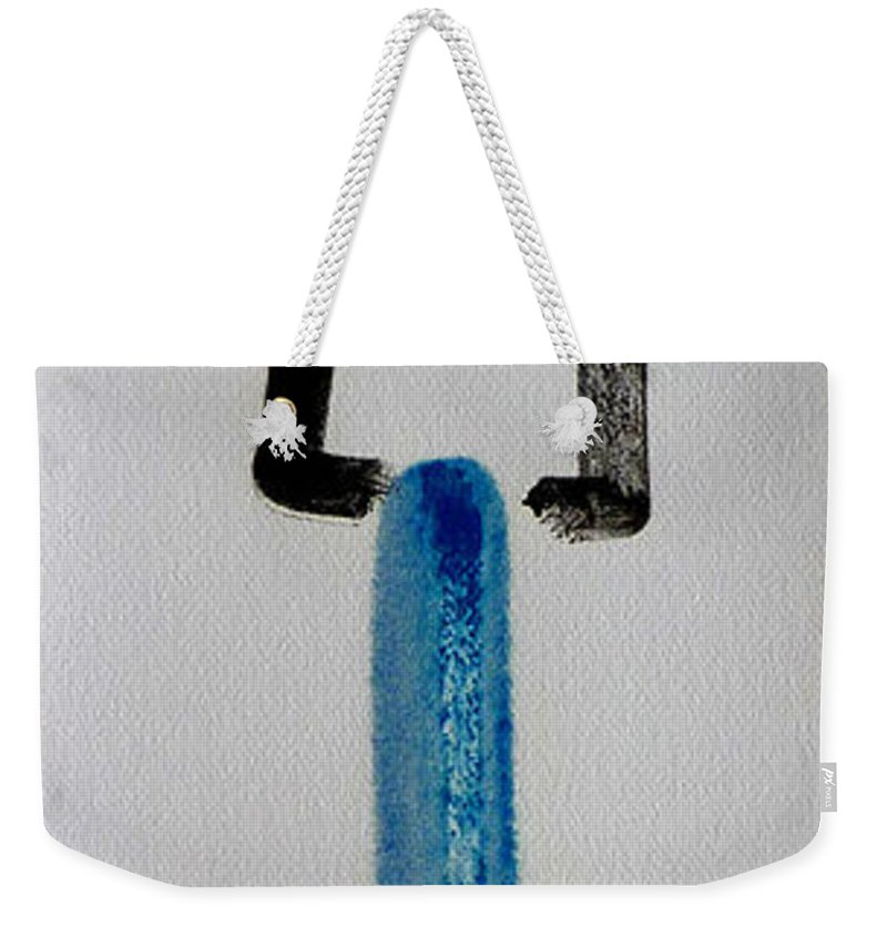 King Weekender Tote Bag featuring the painting Happy King by Charles Stuart