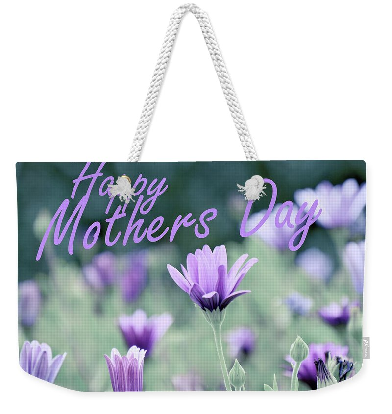 Mothers Day Weekender Tote Bag featuring the photograph Happy Mothers Day by Tianxin Zheng