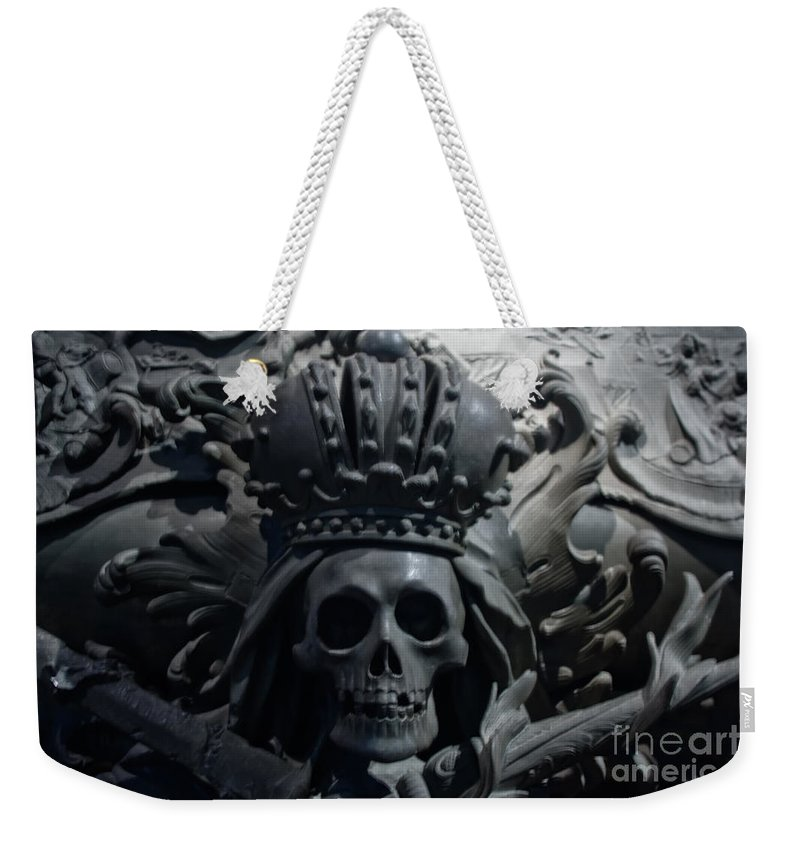 Hapsburg Tomb Mortuary Dead Burial Vienna Austria Weekender Tote Bag featuring the photograph Hapsburg Tombs Vienna Austria by Thomas Marchessault