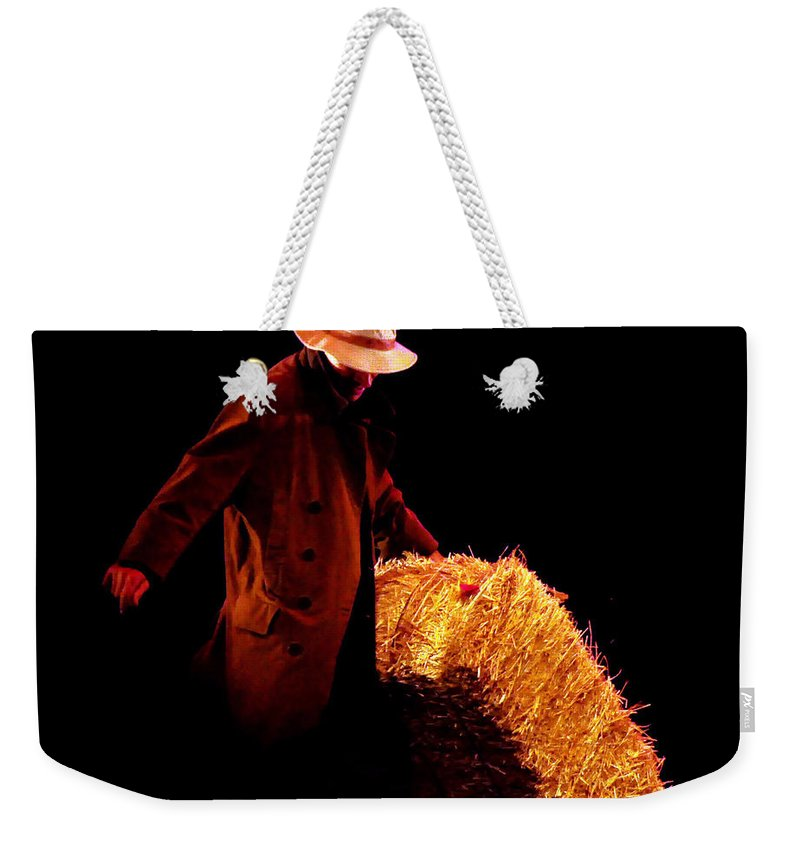 Clay Weekender Tote Bag featuring the photograph Hard Work by Clayton Bruster