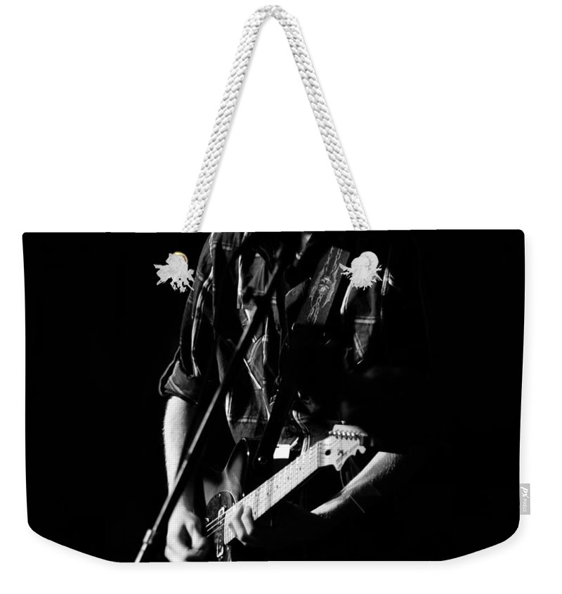 Fine Art Photography Weekender Tote Bag featuring the photograph Hard Workin Man by David Lee Thompson