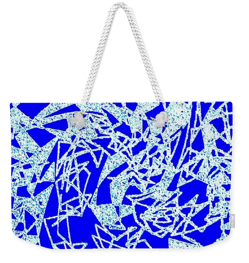 Abstract Weekender Tote Bag featuring the digital art Harmony 10 by Will Borden