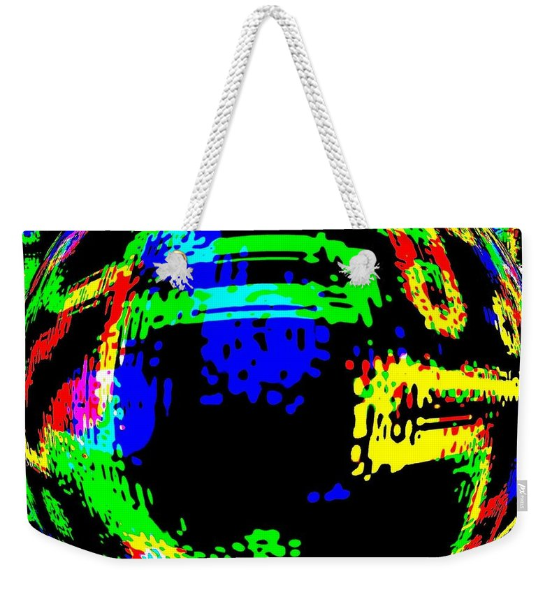 Abstract Weekender Tote Bag featuring the digital art Harmony 13 by Will Borden