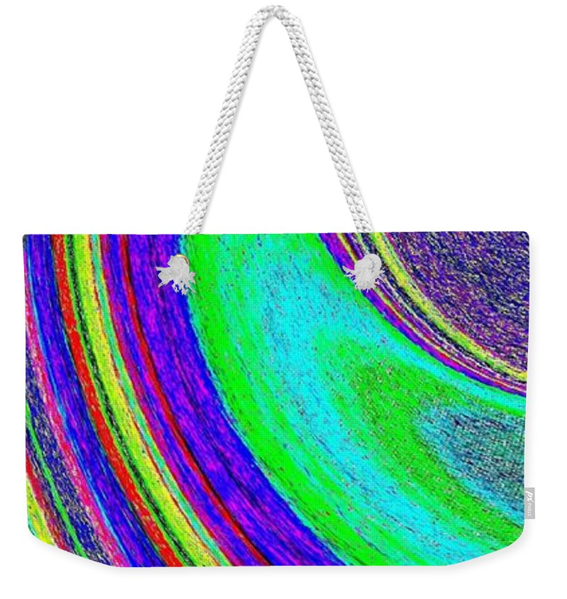 Abstract Weekender Tote Bag featuring the digital art Harmony 21 by Will Borden