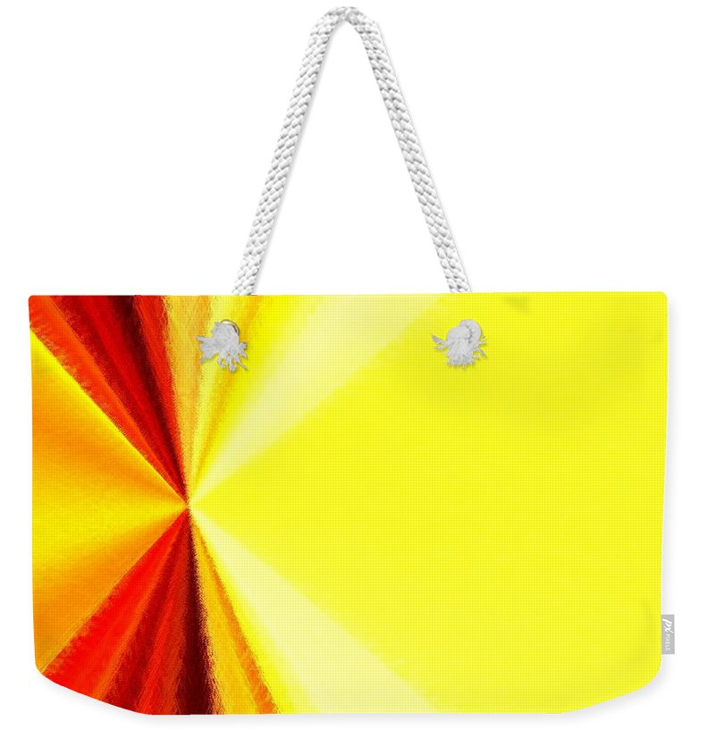 Abstract Weekender Tote Bag featuring the digital art Harmony 29 by Will Borden