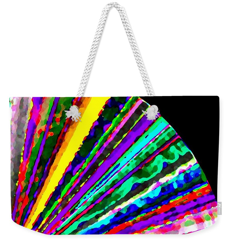 Abstract Weekender Tote Bag featuring the digital art Harmony 7 by Will Borden