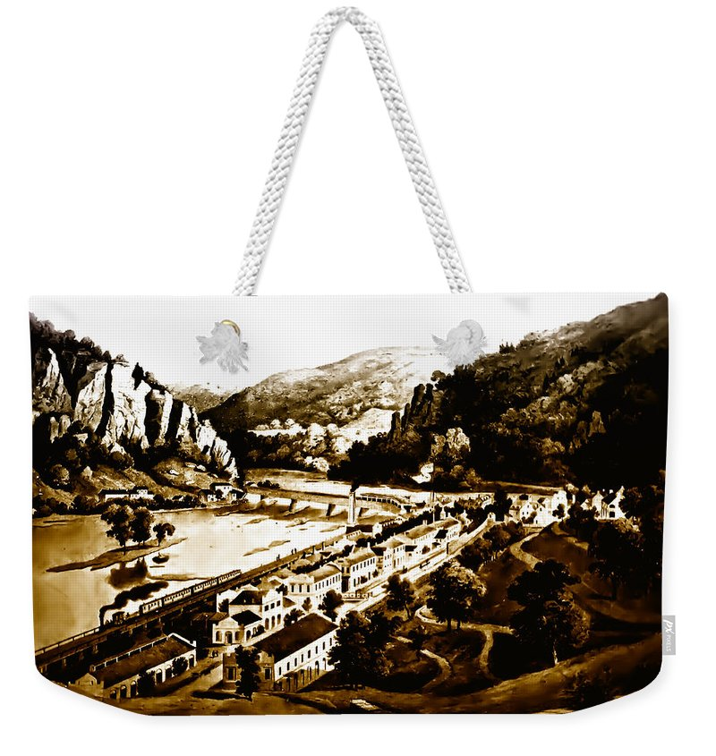 Harpers Ferry Weekender Tote Bag featuring the photograph Harpers Ferry by Bill Cannon