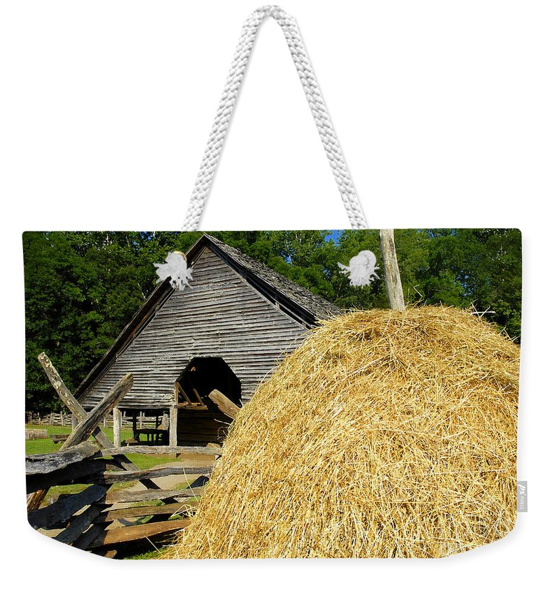 Harvest Weekender Tote Bag featuring the photograph Harvest by David Lee Thompson