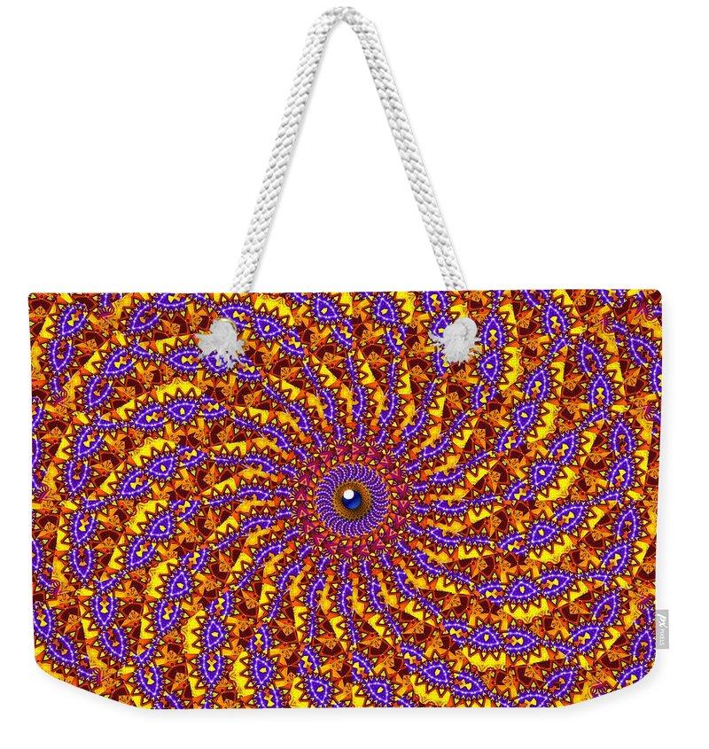 Design Weekender Tote Bag featuring the digital art Harvest by Robert Orinski
