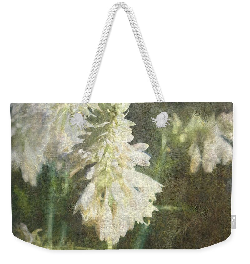Theresa Campbell Weekender Tote Bag featuring the photograph Hasta La Vista by Theresa Campbell