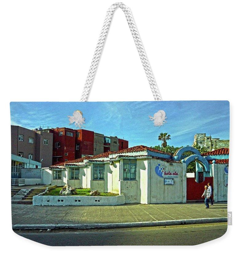 Havana Weekender Tote Bag featuring the photograph Havana-50 by Rezzan Erguvan-Onal