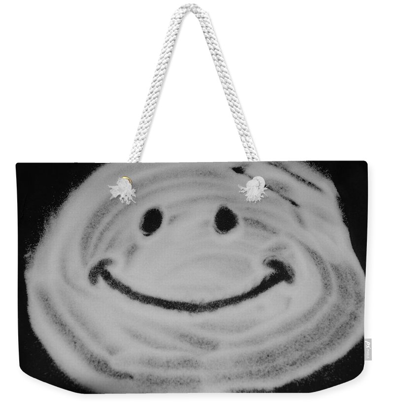 Black And White Weekender Tote Bag featuring the photograph Have A Nice Day by Rob Hans