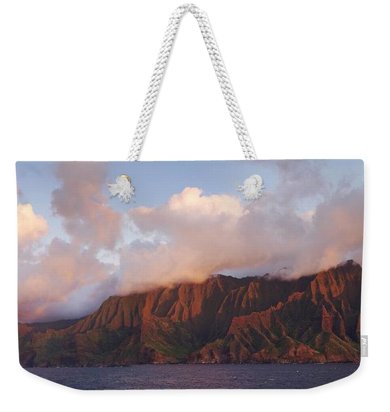 Hawaii Weekender Tote Bag featuring the photograph Hawaii by Heather Coen