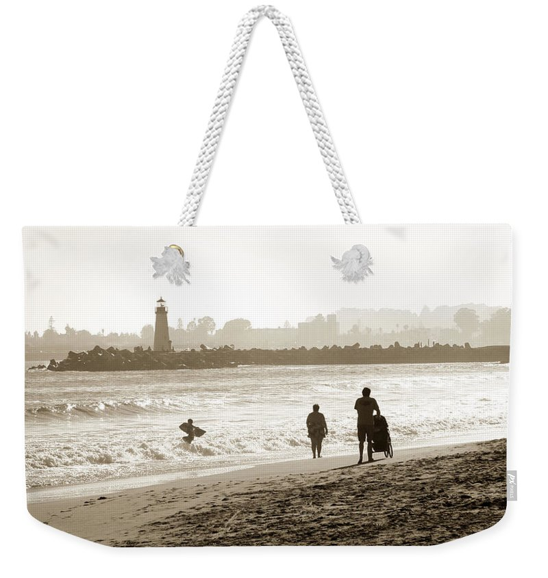 Santa Cruz Weekender Tote Bag featuring the photograph Hazy Lazy Afternoon by Marilyn Hunt
