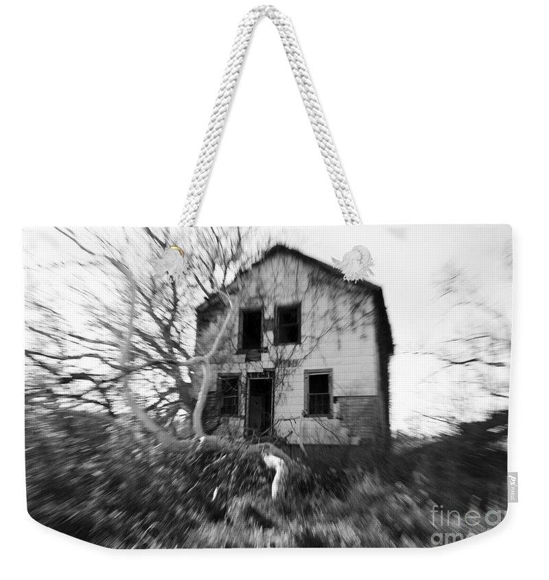 Headache Weekender Tote Bag featuring the photograph Headache by Amanda Barcon