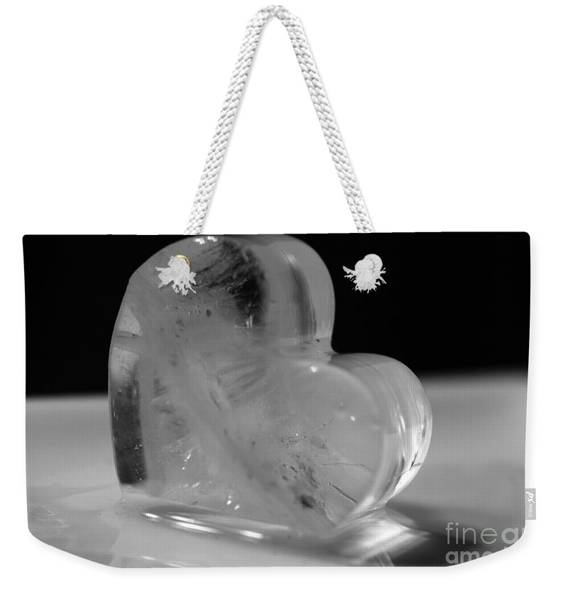 Heart Weekender Tote Bag featuring the photograph Heart by Amanda Barcon