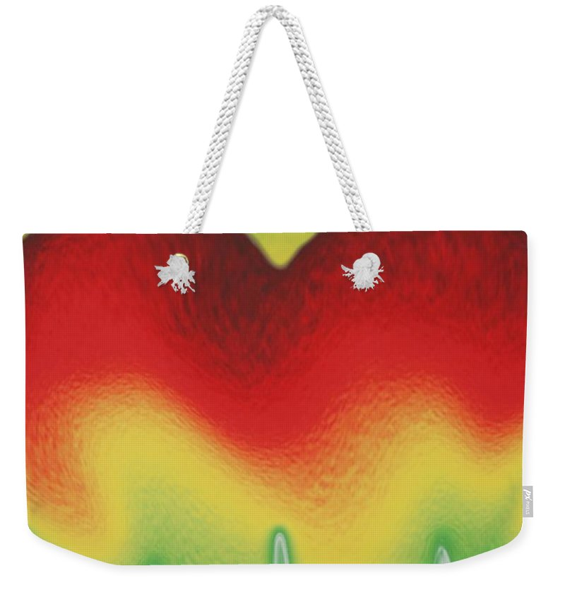 Heart Weekender Tote Bag featuring the photograph Heart Beat by Rob Hans