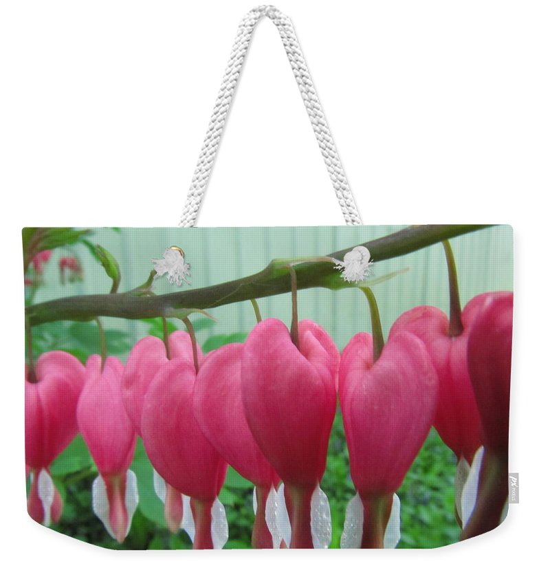 Flowers Weekender Tote Bag featuring the photograph Heart Beat by Robert Nacke