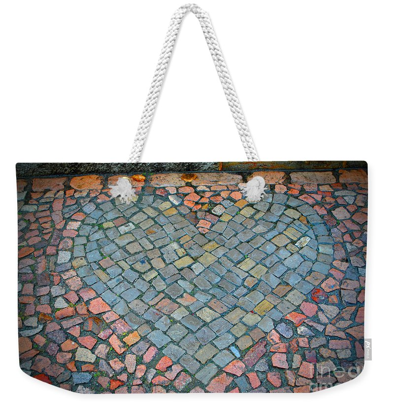 Wittenberg Weekender Tote Bag featuring the photograph Heart Of Stone by Jost Houk