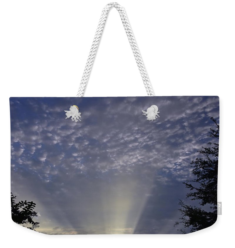 Landscape Weekender Tote Bag featuring the photograph Heaven On Earth by Deborah Good