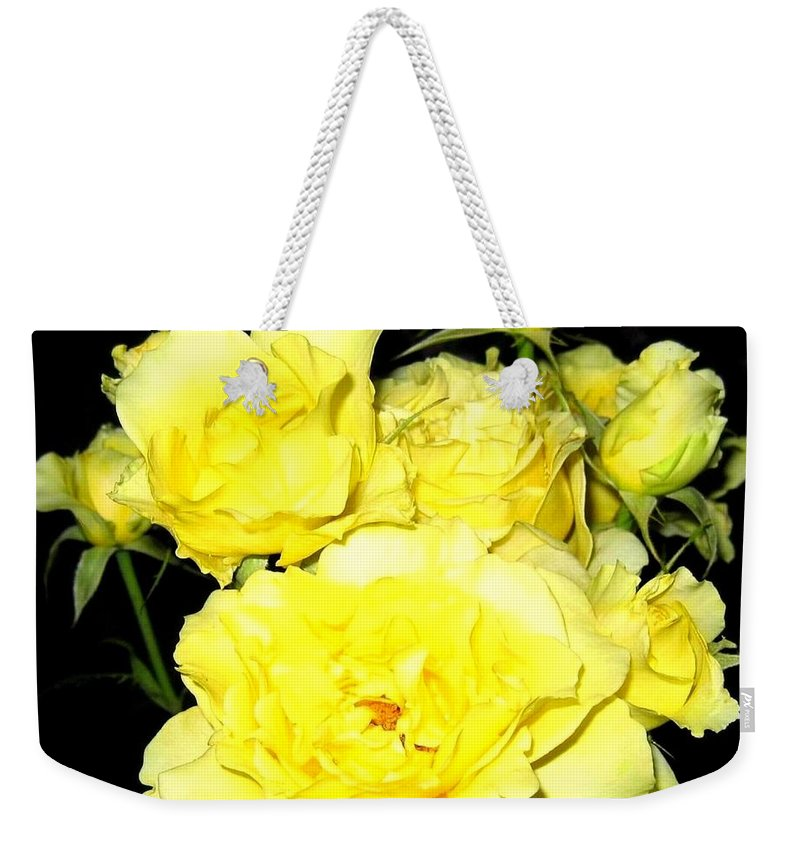 Roses Weekender Tote Bag featuring the photograph Heaven Scent by Will Borden