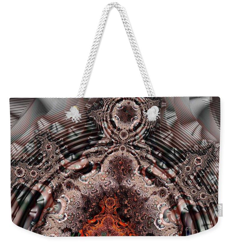 Door Weekender Tote Bag featuring the digital art Heavens Door by Ron Bissett