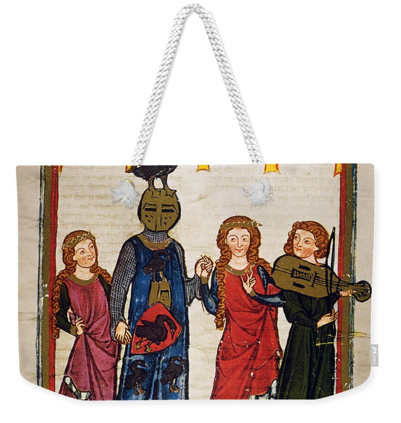 14th Century Weekender Tote Bag featuring the photograph Heidelberg Lieder, C.14th by Granger