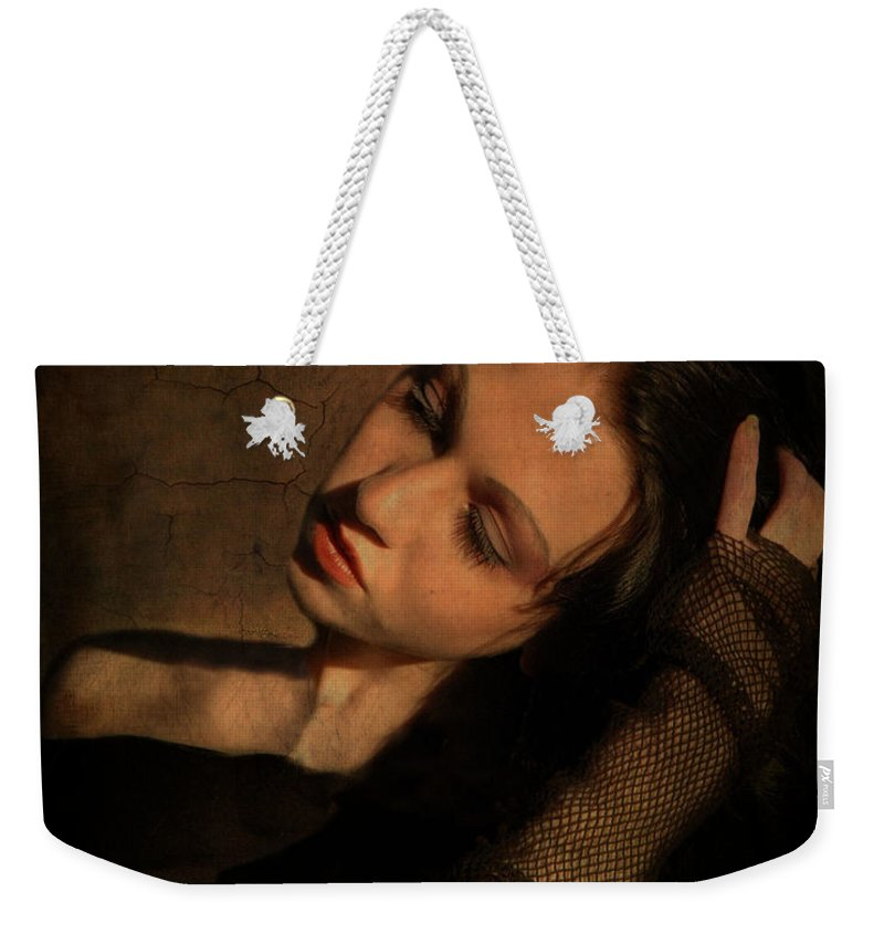 Portrait Weekender Tote Bag featuring the photograph Helen by Fran J Scott