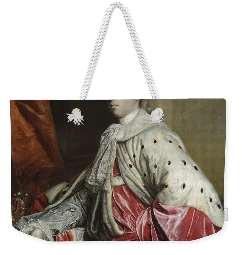 Sir Joshua Reynolds English 1723 - 1792 Henry Yelverton Weekender Tote Bag featuring the painting Henry Yelverton by Sir Joshua Reynolds
