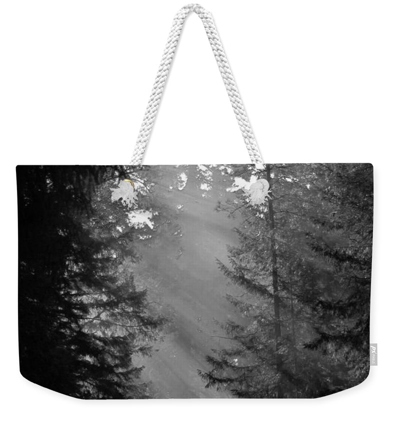Sunbeams Weekender Tote Bag featuring the photograph Her Majesty by Wendy Rickwalt