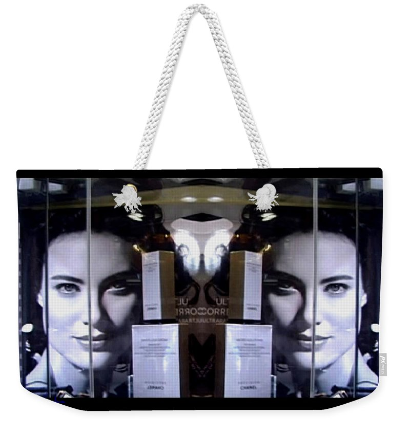 Dream Weekender Tote Bag featuring the photograph Here by Charles Stuart