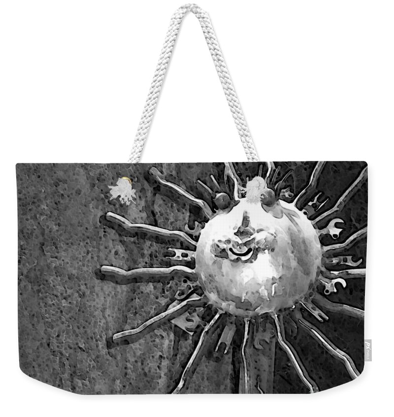 Sun Weekender Tote Bag featuring the photograph Here Comes The Sun by Debbi Granruth