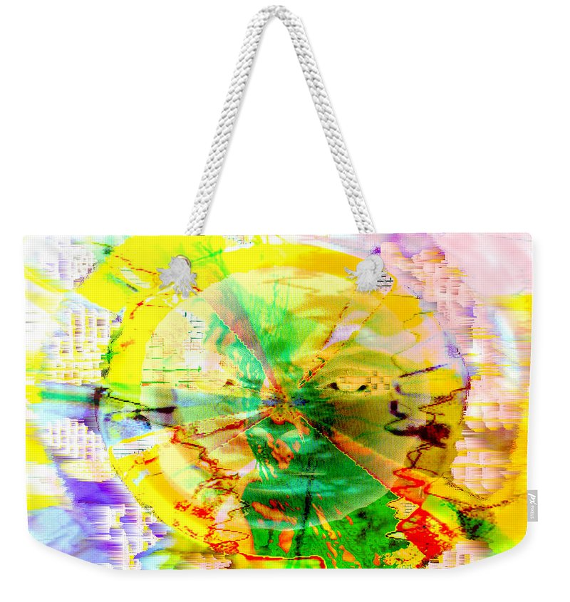 Beatles Weekender Tote Bag featuring the photograph Here Comes The Sun by Seth Weaver