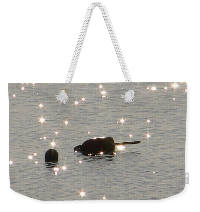 Sparkle Weekender Tote Bag featuring the photograph Here Lobby Lobby Lobby... by Kelly Mezzapelle