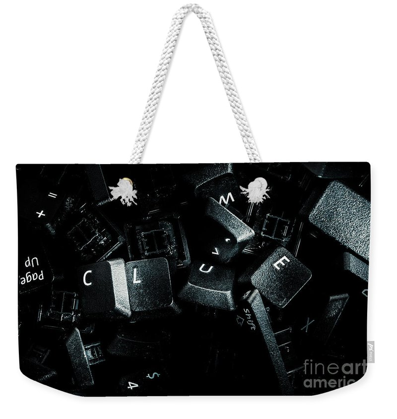 Mystery Weekender Tote Bag featuring the photograph Hidden By A Coverup Conspiracy by Jorgo Photography - Wall Art Gallery