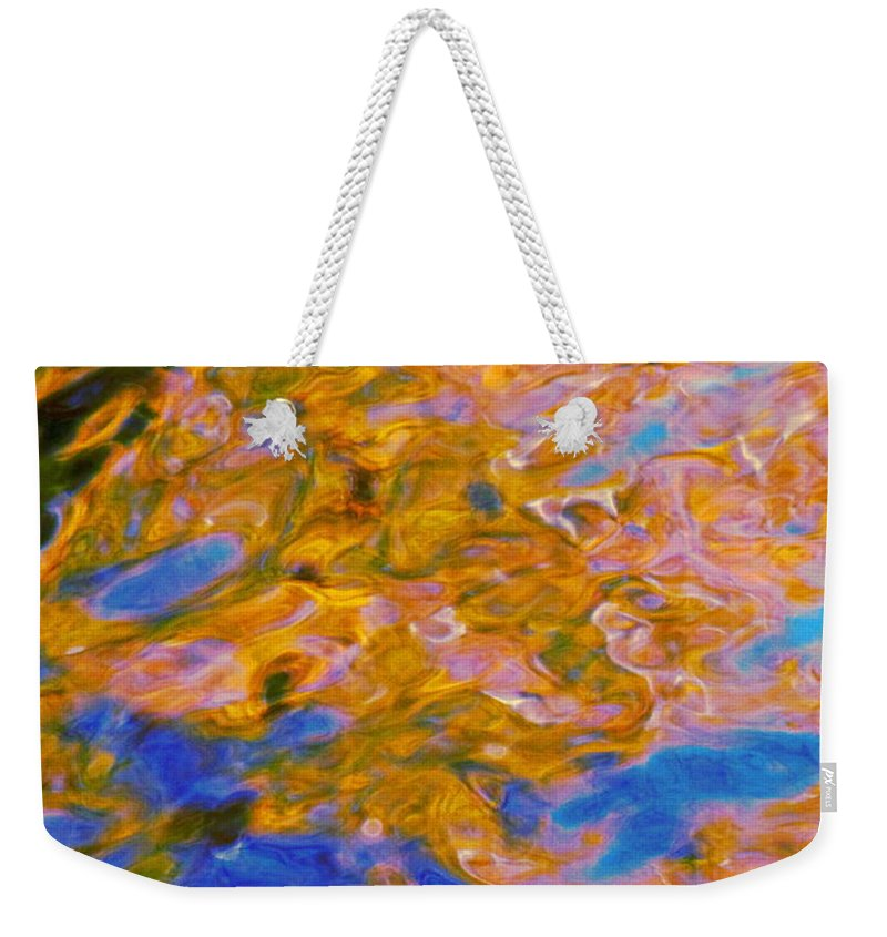 Water Art Weekender Tote Bag featuring the photograph Hidden Dimensions by Sybil Staples
