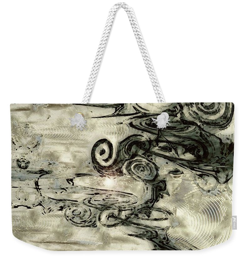 Hidden Dreams Art Weekender Tote Bag featuring the digital art Hidden Dreams by Linda Sannuti