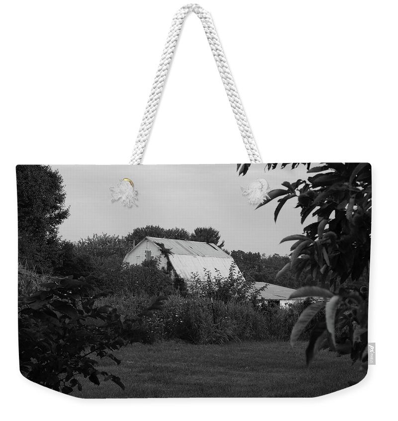 Digital Weekender Tote Bag featuring the photograph Hidden by Jeff Roney