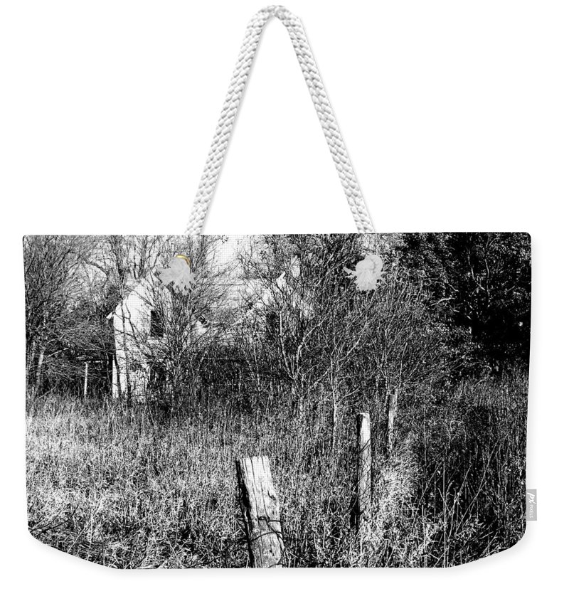House Weekender Tote Bag featuring the photograph Hidden by Julie Hamilton