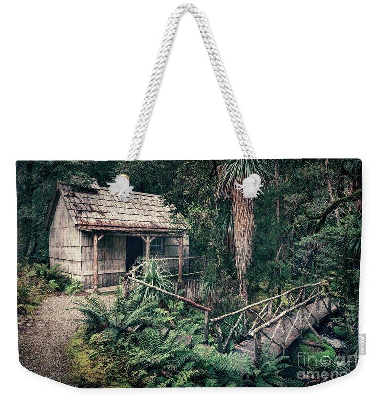 Kremsdorf Weekender Tote Bag featuring the photograph Hidden Origin by Evelina Kremsdorf