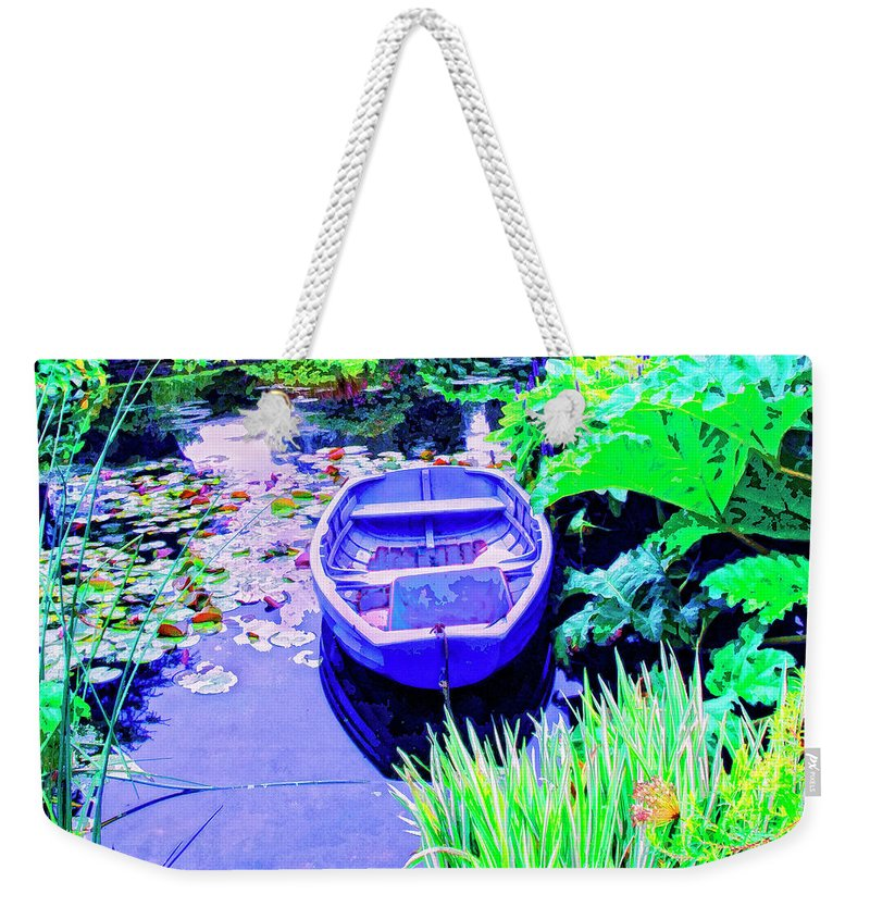 Hideaway Weekender Tote Bag featuring the mixed media Hideaway by Dominic Piperata