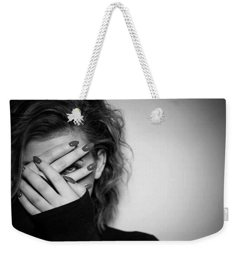 Female Models Weekender Tote Bags