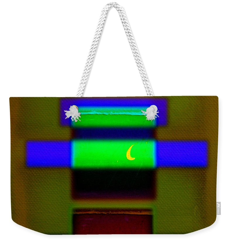 Rothko Weekender Tote Bag featuring the painting Hieroglyphic by Charles Stuart