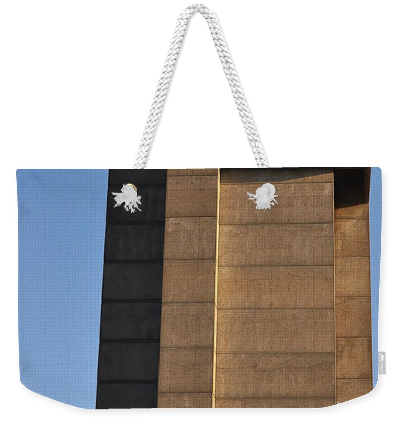 Building Weekender Tote Bag featuring the photograph High Rise by Tim Nyberg