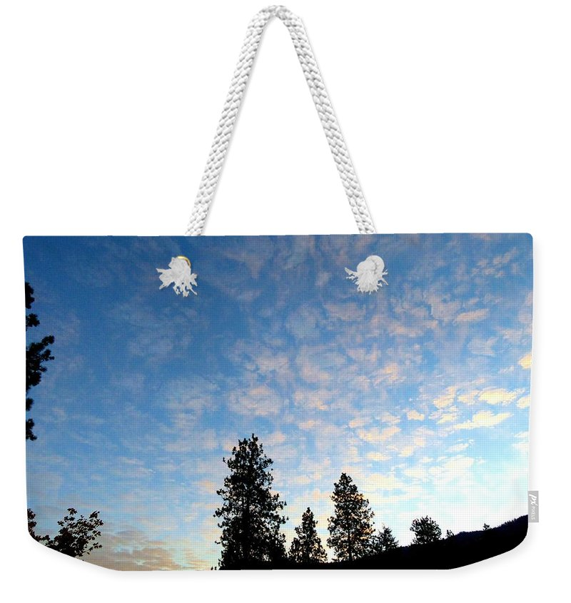 Sunrise Weekender Tote Bag featuring the photograph Highland Sunrise by Will Borden