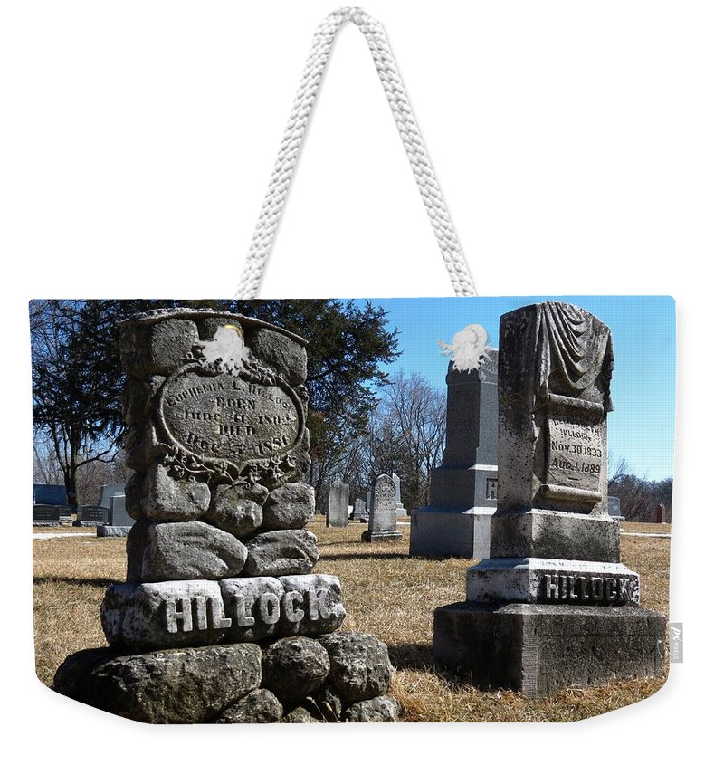 Nature Weekender Tote Bag featuring the photograph Hillock by Kyle West