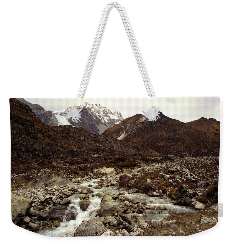 Himalaya Weekender Tote Bag featuring the photograph Himalaya by Patrick Klauss