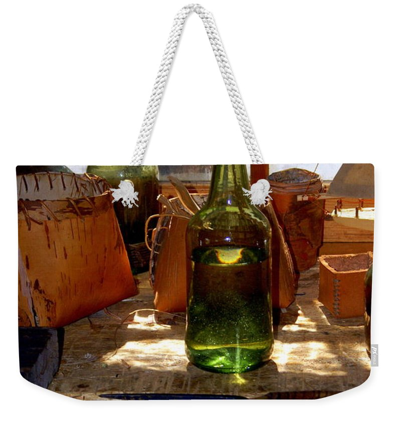 Still Life Weekender Tote Bag featuring the photograph Historic Still Llife by Marty Koch