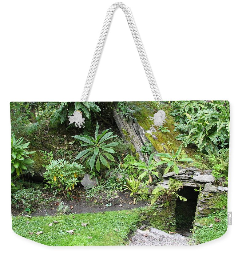 Hobbit Weekender Tote Bag featuring the photograph Hobbit Home by Kelly Mezzapelle