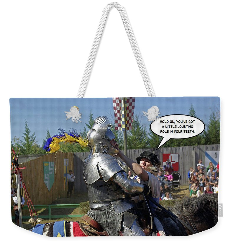 2d Weekender Tote Bag featuring the photograph Hold On by Brian Wallace
